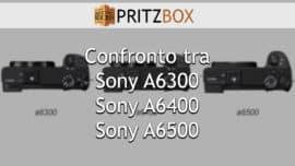 """Copertina dell'articolo """"Sony A6300 vs A6400 vs A6500"""""""