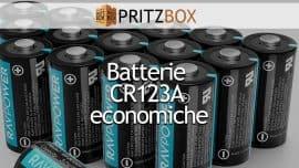 """Copertina dell'articolo """"Le batterie CR123A più economiche"""""""
